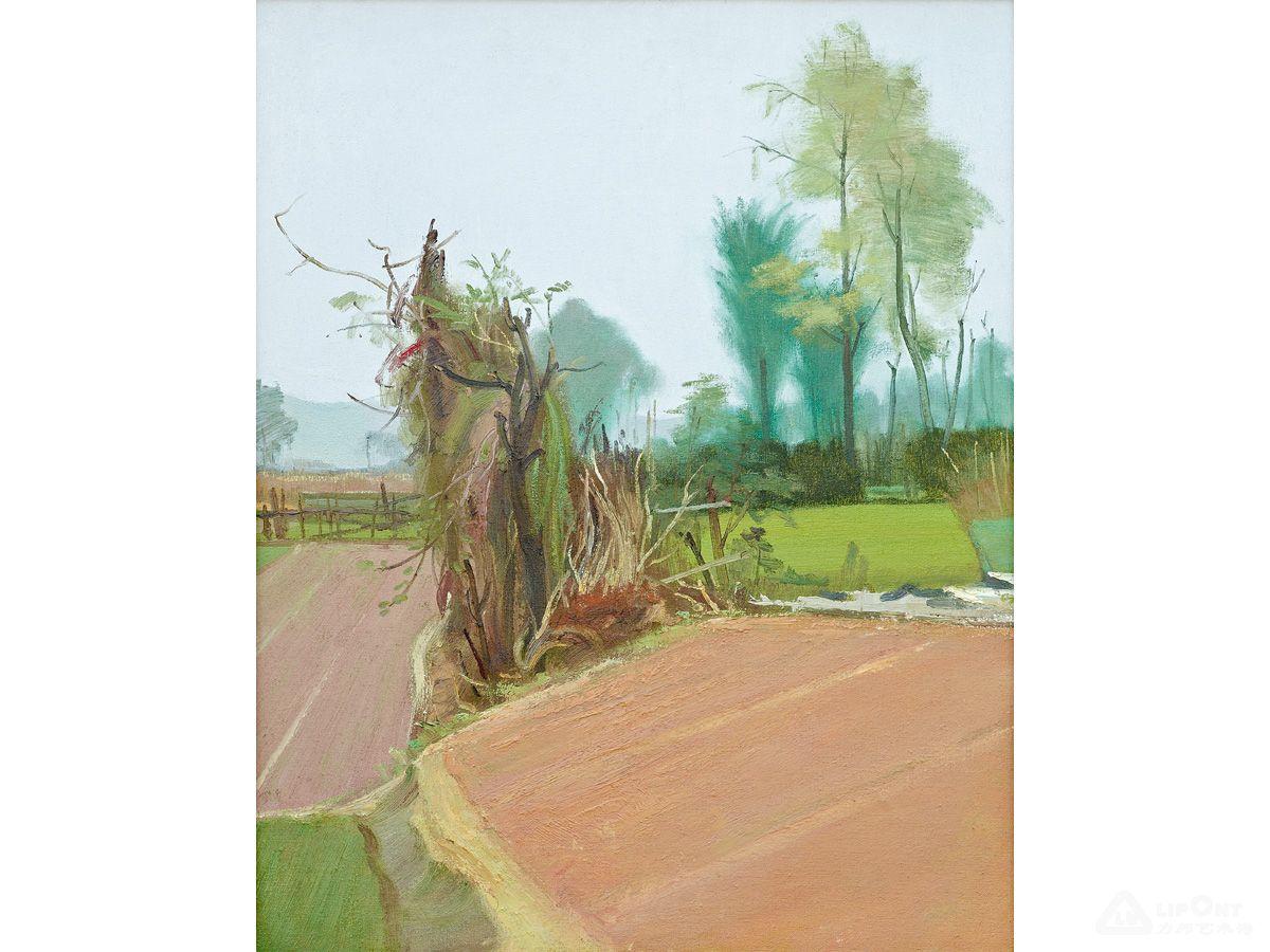李建安 写生风景一-2012春季拍卖预展-油画-力邦拍卖